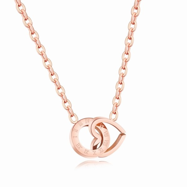 round heart necklace gb06171281