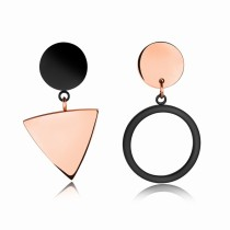 Triangle round earrings gb0617394