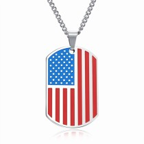 Flag trophy necklace gb06171236b