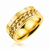 Roman numerals rotating chain rings gb0617570b