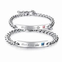 Lettering couple bracelet gb0617887r