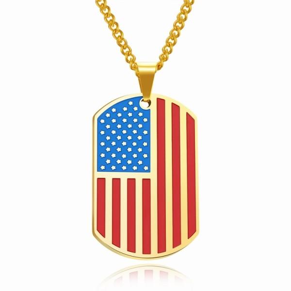 Flag trophy necklace gb06171236c