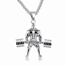 weightlifting necklace gb06171218