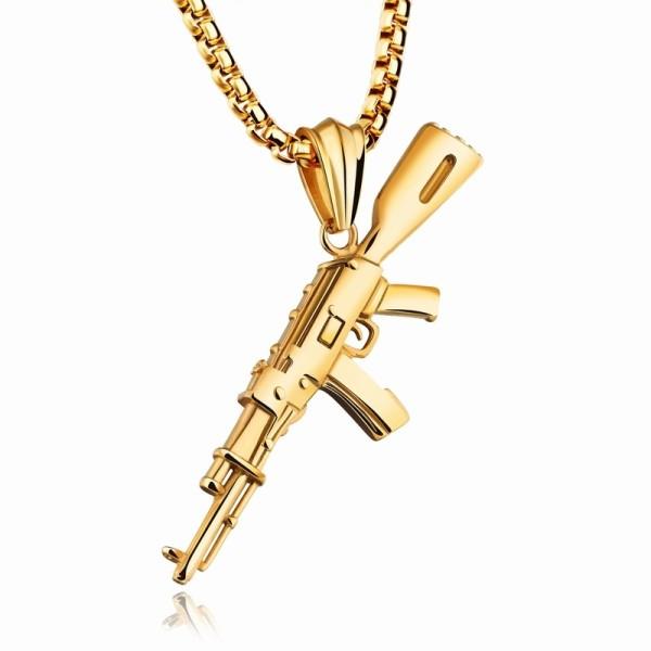 pistol necklace gb06171221b