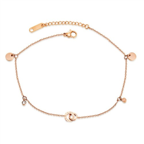 Roman numerals anklets gb0619083