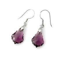 6090 crystal earrings 060105