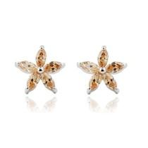 cz stone earring E315-6