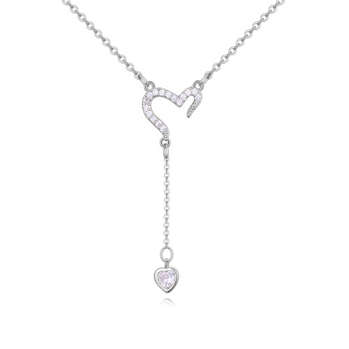 heart necklace 26659
