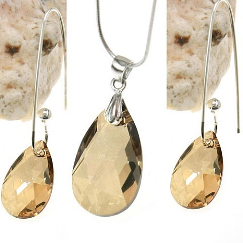 crystal pendant set970208