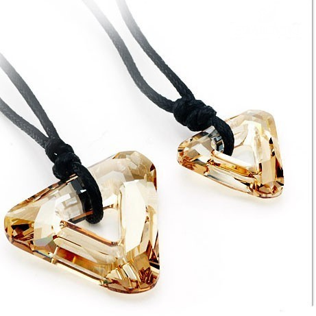 crystal Couple necklace 9702241