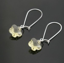 strass flower   earrings 980142