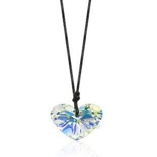 silver Austria  crystal 27mm necklace 6260ab