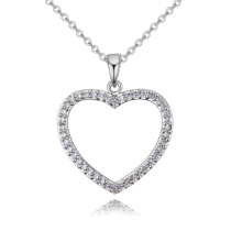 heart necklace 26143