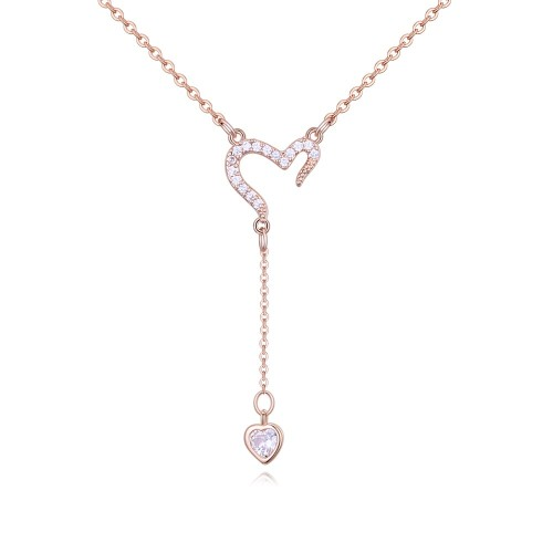 heart necklace 26658