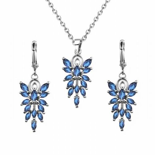 Leaves jewelry set q8850376a