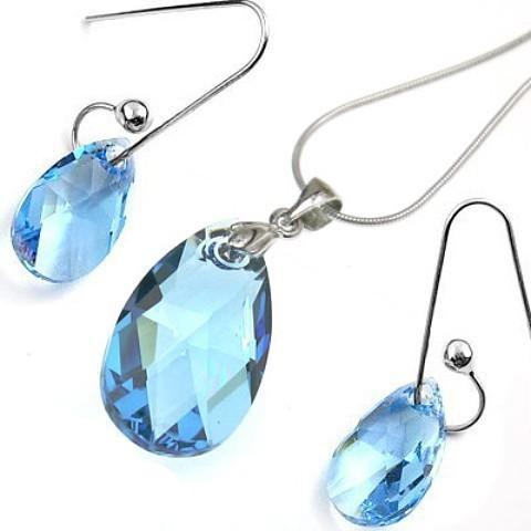 crystal pendant set970209