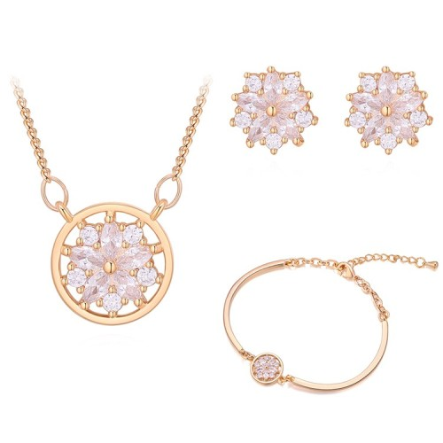 Snowflake jewelry set 30377