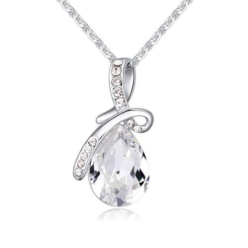 silver necklace 24326