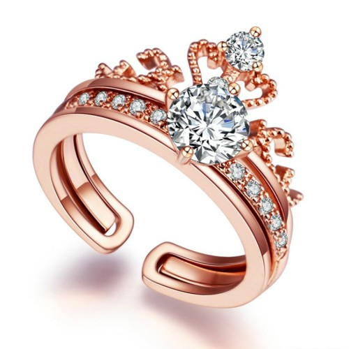 Crown open ring
