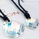 crystal Couple necklace 9702233
