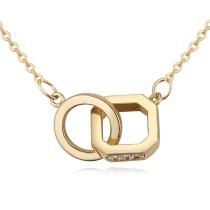 Geometric necklace 26140