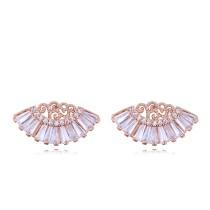 Fan earrings 26617