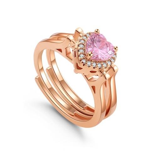 heart ring 30091