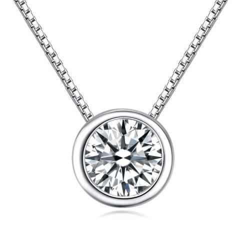 silver necklace 24313