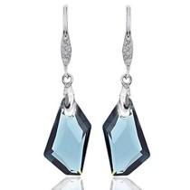 24mm crystal earring990149