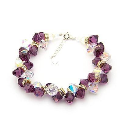 crystal bracelet970678(8mm)