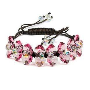 silver Austrias crystal bracelet12040706
