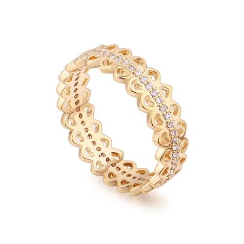 heart round ring 30045