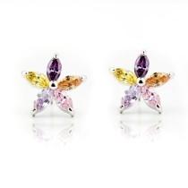 cz stone earring E315-1