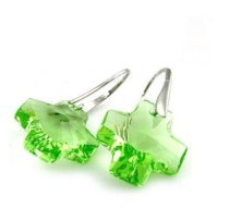 crystal - cross   earrings980509