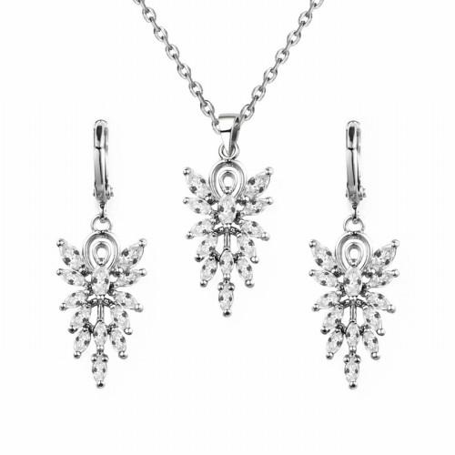 Leaves jewelry set q8850376b