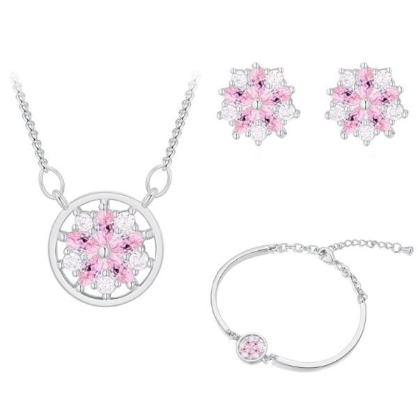 Snowflake jewelry set