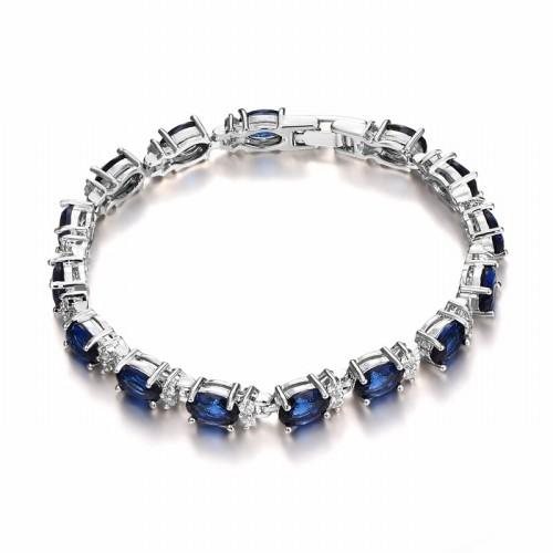 oval zircon bracelet