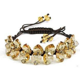 silver Austrias crystal bracelet12040704