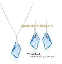 crystal pendent set 990108