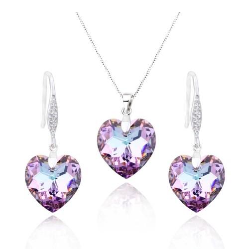silver pendant set 01213108