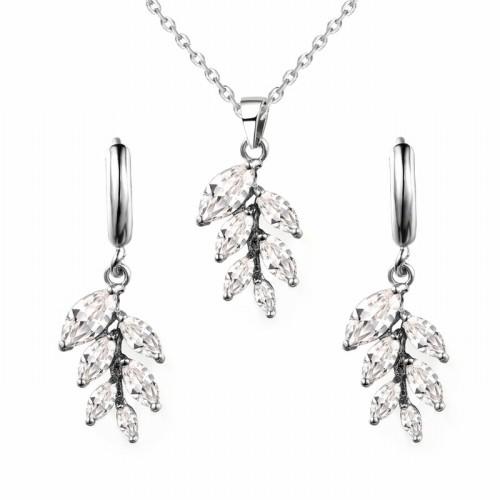 Leaves jewelry set q9180383a