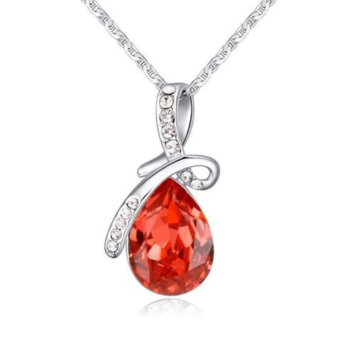 silver necklace 24328
