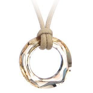 silver crystal necklace1171231