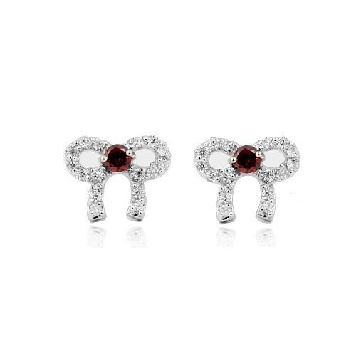 cz stone earring E297-1