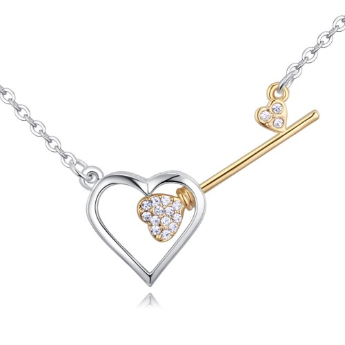 heart necklace 26836
