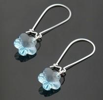 strass flower   earrings 980138