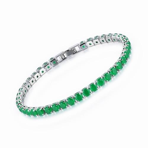 round zircon bracelet 984