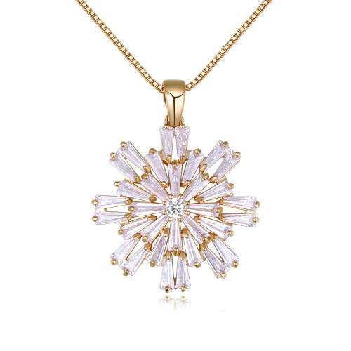 snowflake necklace 26204