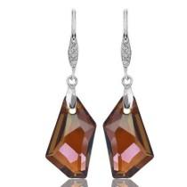 24mm crystal earring990148