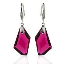 24mm crystal earring990145